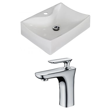 American Imaginations 22'' Wall Mount Bathroom Sink