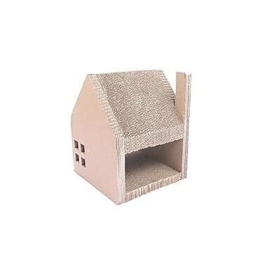 Purrrfect Life Corrugated Cardboard Cat House