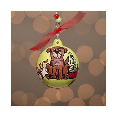 Glory Haus Dog Ball Ornament
