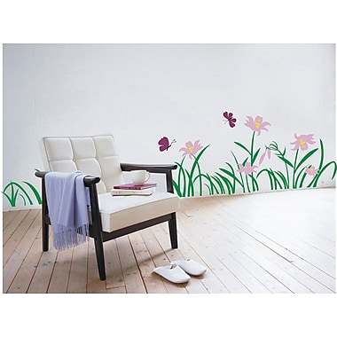 Pop Decors Flowers and Grass Wall Decal