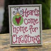 Glory Haus Hearts Come Home Table Top Canvas