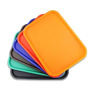 New Star Foodservice Fast Food Serving Tray (Set of 6)
