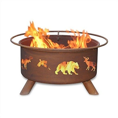 Patina Products Classic Wildfire Steel Wood Burning Fire pit