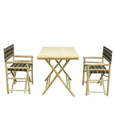 ZEW 3 Piece Dining Set