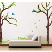 Pop Decors Love Twin Tree Wall Decal