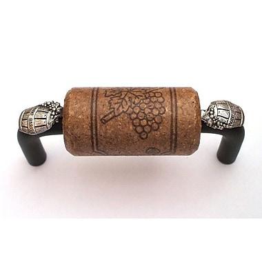 Vine Designs LLC VIneyard 3'' Center Bar Pull; Bronze/Espresso/Silver