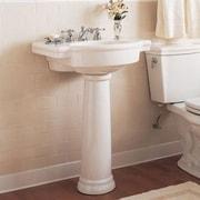 American Standard Retrospect 27'' Pedestal Bathroom Sink w/ Overflow