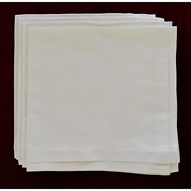 Fino Lino White Pleated Napkin (Set of 4)