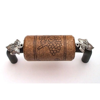 Vine Designs LLC Vineyard 3'' Center Bar Pull; Bronze/Espresso/Silver