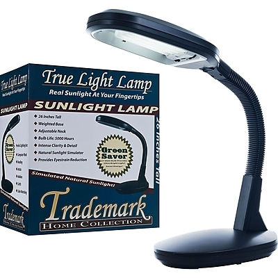 Deluxe Sunlight Desk Lamp, Black