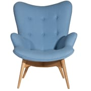 Aeon Furniture Jules Arm Chair; Blue