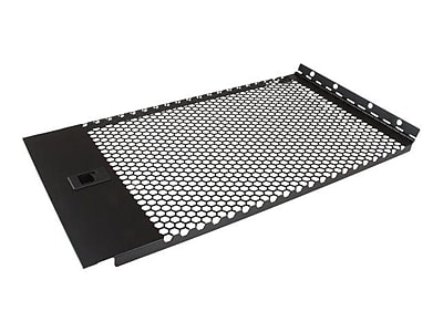 StarTech Vented Blank Panel with Hinge for 6U Server Racks (RKPNLHV6U)