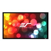 Elite Screens® ezFrame 2 Fixed Frame Projector Screen, 110""