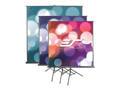 Elite Screens® Tripod B Portable Projector Screen, 113