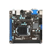 msi Desktop Motherboard, Intel H81 Express Chipset, Mini ITX (H81I)