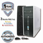 Refurbished HP ELITE 8000 2TB HDD 8G DDR3 RAM, Core 2 Quad Q6600 2.4GHz, W7Pro 64