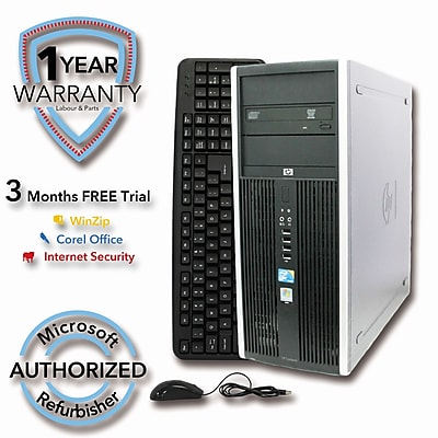 Refurbished HP ELITE 8000 2TB HDD 8G DDR3 RAM, Core 2 Quad Q6600 2.4GHz, W7Pro 64