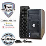 Refurbished DELL 755 320G HDD 4G DDR2 RAM, Core 2 Quad Q6600 2.4GHz, W7Pro 64