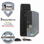 Refurbished DELL 780 USFF Intel Core 2 Duo E8400 3.0Ghz 4GB RAM 160GB Hard Drive Win 7 Pro