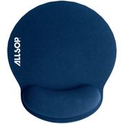 Allsop Memory Foam Mouse Pad (blue)