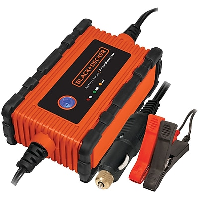 Black Decker Waterproof Battery Charger/maintainer (2 Amps)