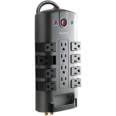 Belkin Pivot-plug Surge Protectors (12-outlet)