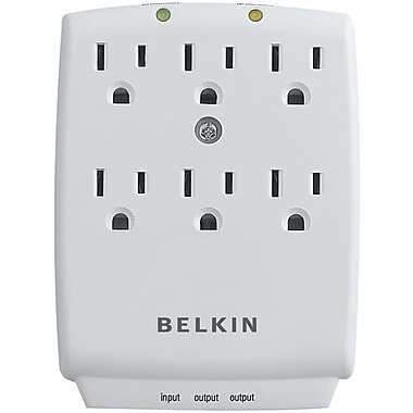Belkin 6-outlet Wall-mount Surge Protector