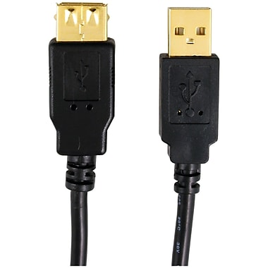 Axis A-male To A-female USB 2.0 Cable (6ft)