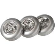 Light It! Stick-on-light 3 Pk (silver)