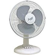 "Comfort Zone 12"" Oscillating Table Fan"
