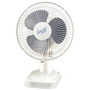 """Comfort Zone 6"""" Table Fan (white)"""