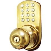 Morning Industry Inc Touchpad Electronic Doorknob (polished Brass)