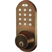 Morning Industry Inc 3-in-1 Remote Control & Touchpad Dead Bolt (oil Rubbed Bronze)