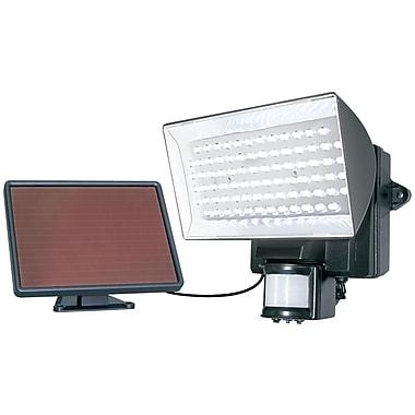 Maxsa – Projecteur de sécurité solaire Innovations à faisceau large à 80 DEL activé par le mouvement, extérieur, noir (MXI40226)