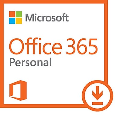 Microsoft Office 365MD – Personnel, 1 PC ou Mac +1 tablette, abonnement de 1 an, anglais [Téléchargement]