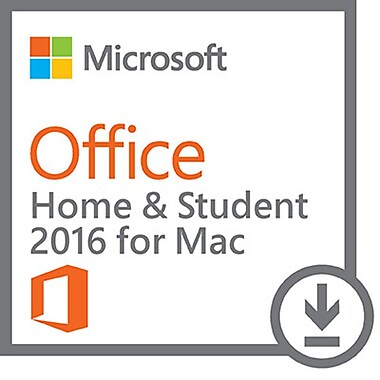 Microsoft Office Home and Student 2016 for Mac, English [Download]