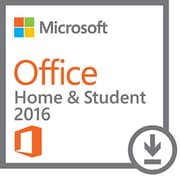 Microsoft - Windows Office Home and Student 2016, anglais [téléchargement]