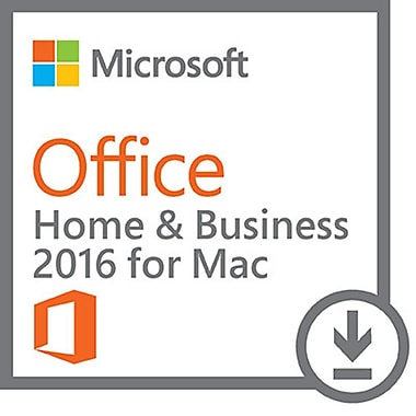 Microsoft Office Home and Business 2016 for Mac, English [Download]