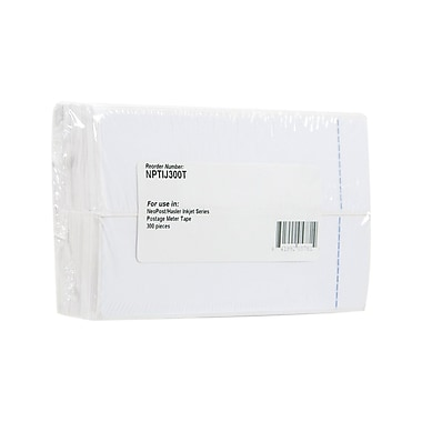 Clover Postage Meter Tape for the Neopost/Hasler 7465233-01, 300 Pieces