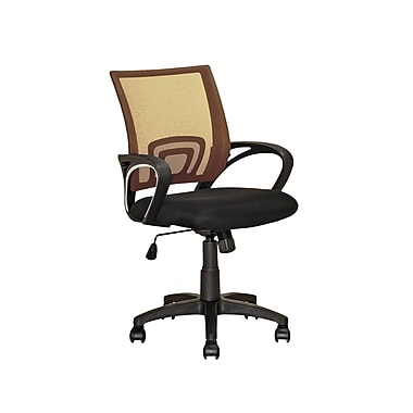 CorLiving LOF-311-O Workspace Light Brown Mesh Back Office Chair