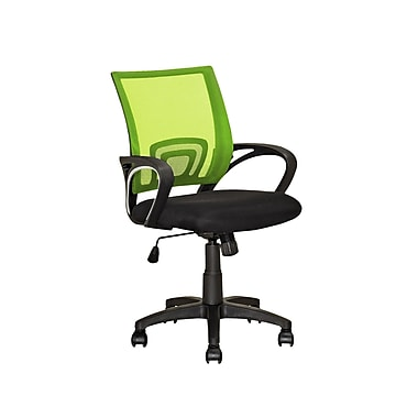 CorLiving LOF-312-O Workspace Lime Green Mesh Back Office Chair