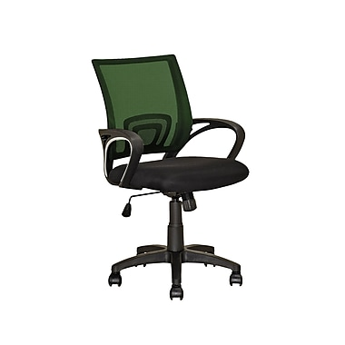 CorLiving LOF-315-O Workspace Forest Green Mesh Back Office Chair