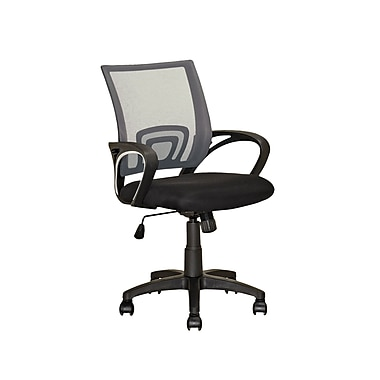 CorLiving LOF-317-O Workspace Dark Grey Back Office Chair