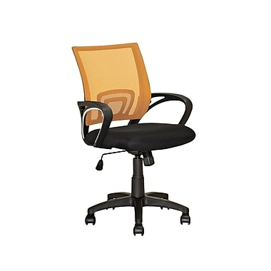CorLiving LOF-325-O Workspace Orange Mesh Back Office Chair