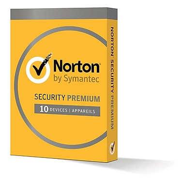 Norton Security Premium, Up to 10 Devices, 1-Year Subscription