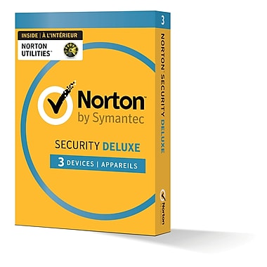 Norton Security Deluxe avec Norton Utilities, jusqu'à 3 dispositifs