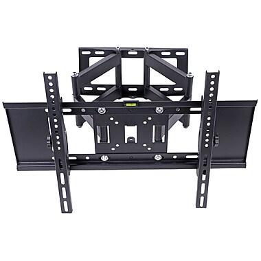 CJ Tech – Fixation murale à mouvement complet pour téléviseurs de 32 à 65 po (FM00524)