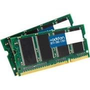 Add On DDR2800SKIT 4GB (2 x 2GB) DDR2 200-Pin SDRAM SODIMM PC2-6400 RAM Module