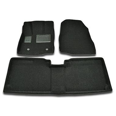 Findway - Tapis protecteurs 3D (12050BB) pour Chevrolet Equinox/GMC Terrain 2012-2017, noir, anglais