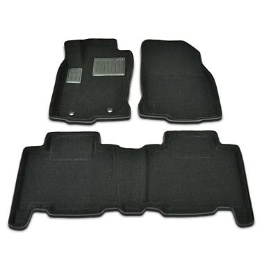 Findway - Tapis protecteurs 3D (62270BB) pour Toyota RAV4 2013-2017, noir, anglais